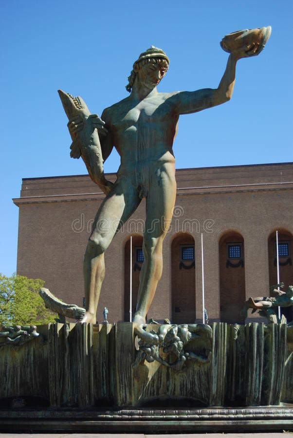 Free Statue Of Poseidon Stock Photos - 20064433