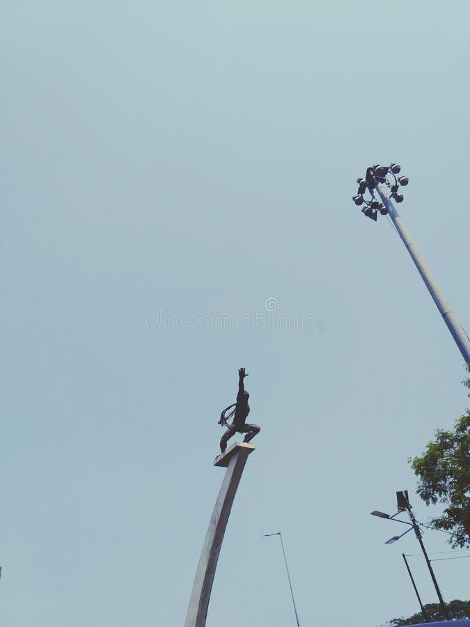 Statue. At pancoran jakarta selatan, indonesia stock images