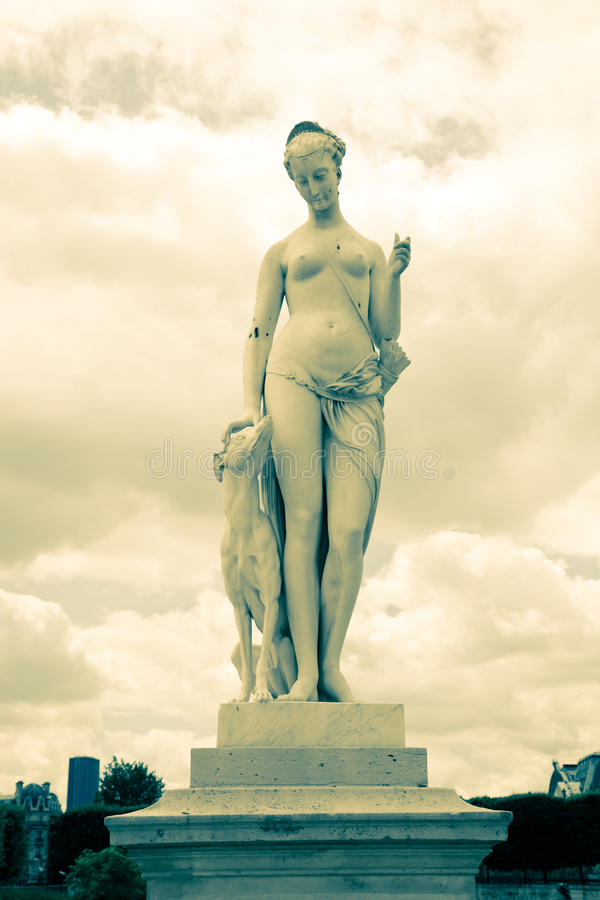 Statue, Paris royalty free stock images