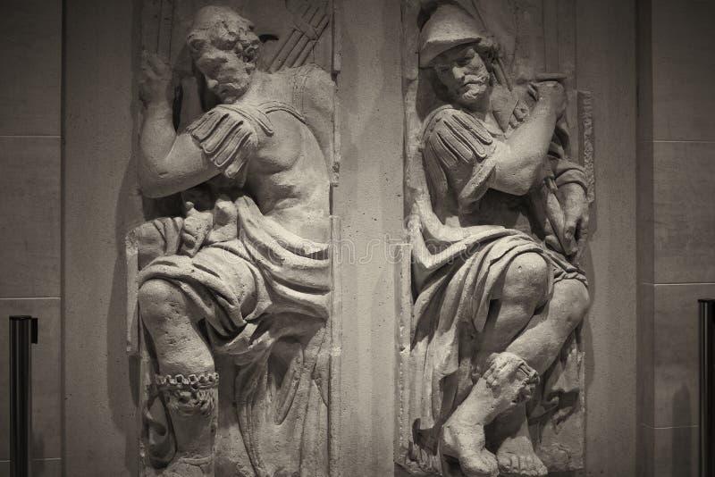 Statue. Paris France Louve famous stock photography