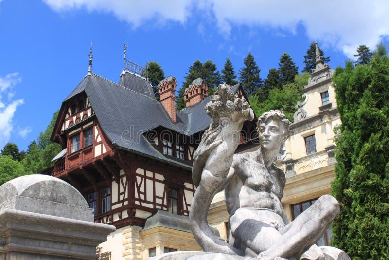 Statue at Peles Palace