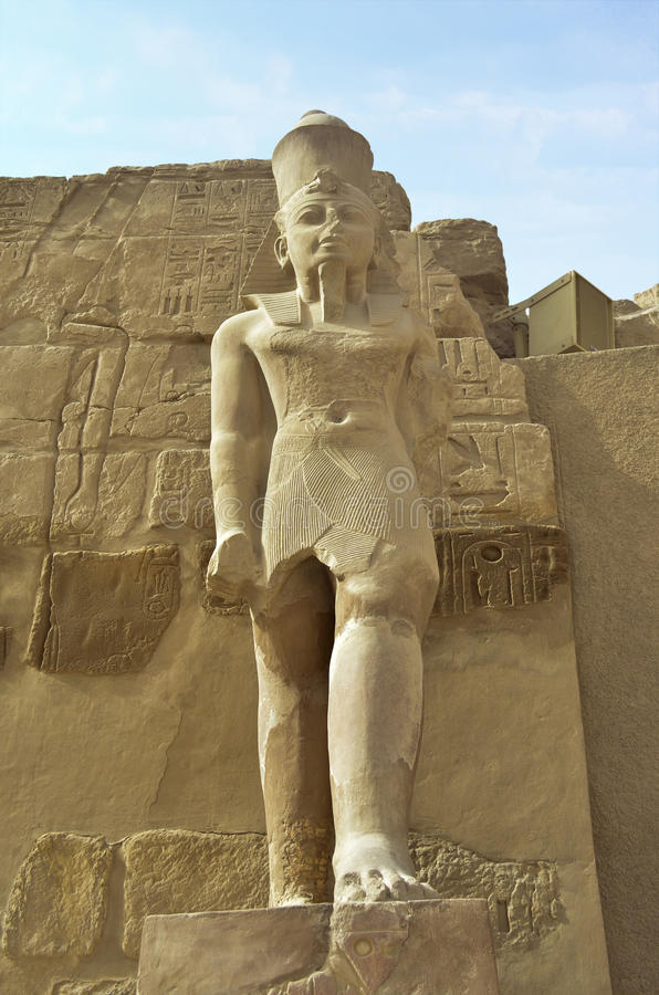 Statue Of Pharaoh Royalty Free Stock Images
