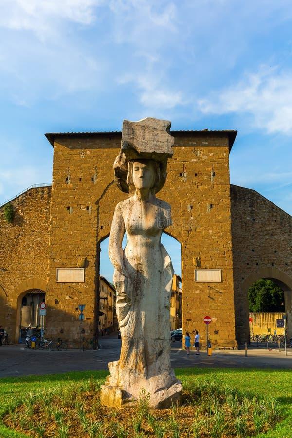 Download Statue At Piazzale Di Porta Romana, Florence Editorial Image - Image: 83700255