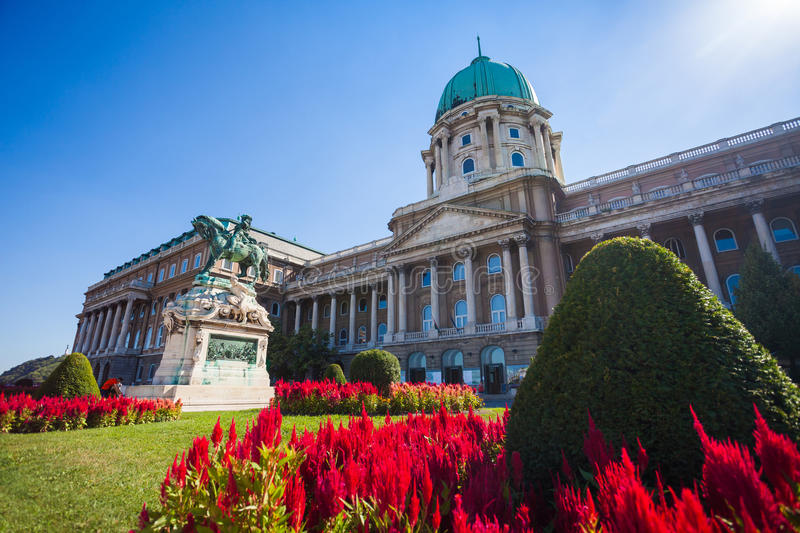 Download The Statue Of Prince Eugene Of Savoy In Front Of Buda Castle Stock Photo - Image of hungarian, royal: 39506032