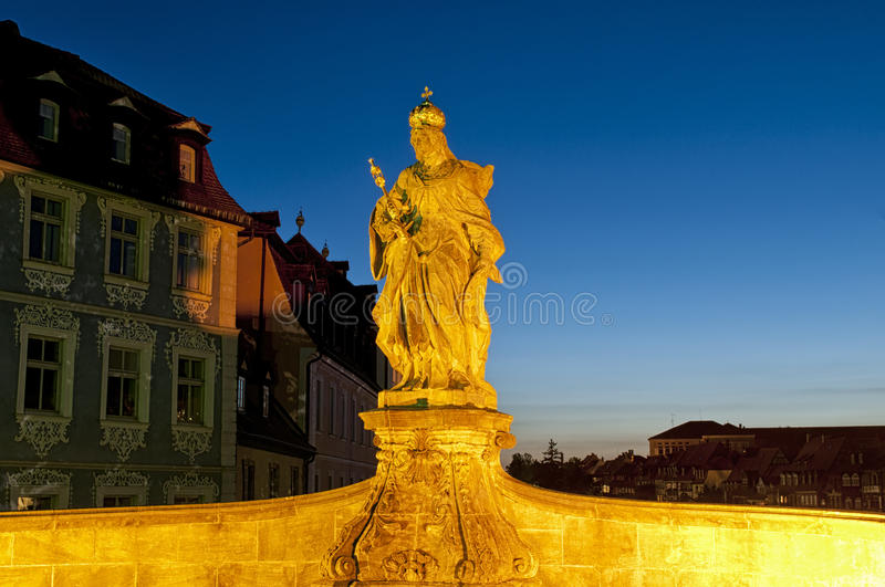 Download Statue of Queen Kunegunde stock photo. Image of historically - 26236184