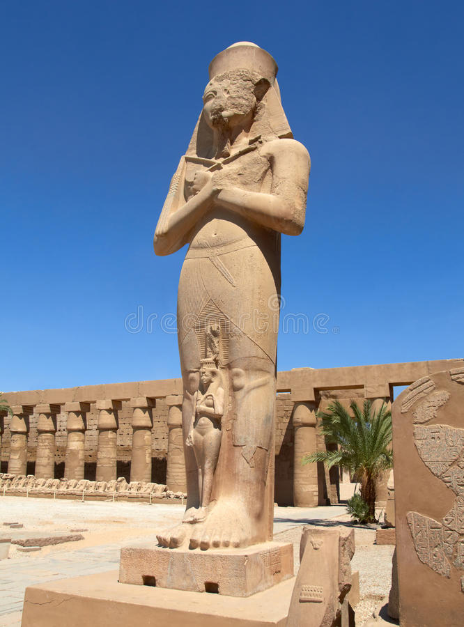 Download Statue of Ramses II stock photo. Image of archeology - 24262950