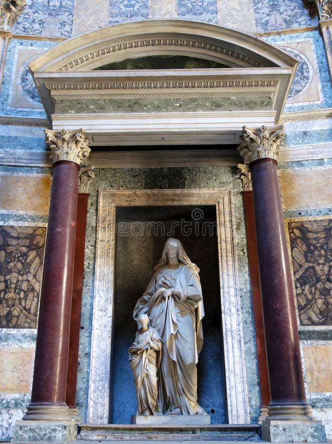 Statue religieuse, Panthéon, Rome photo stock
