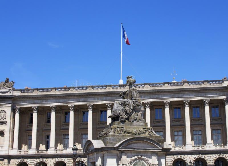Statue représentant Lille photos libres de droits