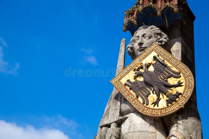 Download Statue of Roland in Bremen stock photo. Image of copy - 14549742