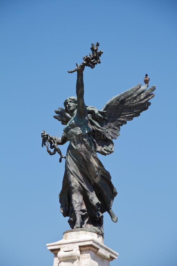Statue in Rom lizenzfreies stockfoto