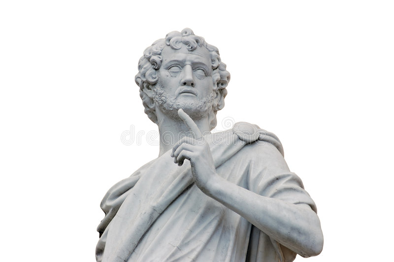 Statue romaine images stock
