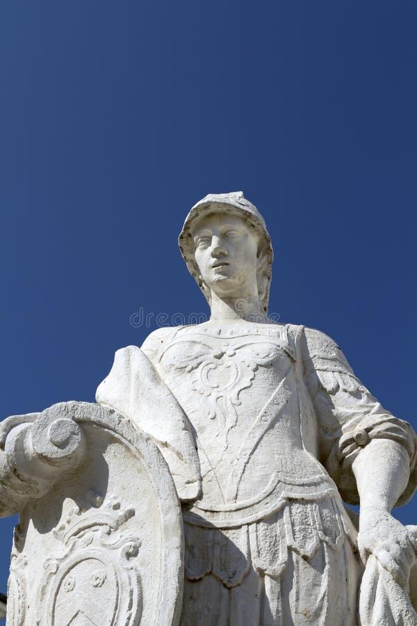 Statue romaine de guerrier photo stock