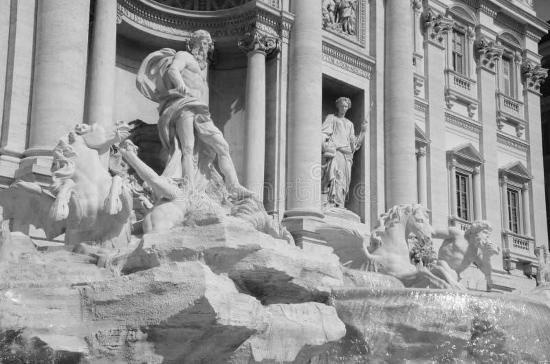 Statue in Rome stock photo