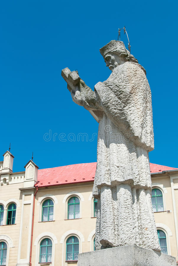Download Statue Of A Saint John Of Nepomuk Stock Image - Image: 28110951