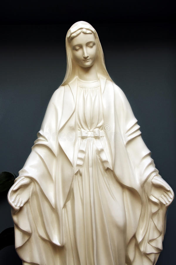 Statue Of Saint Mary Stock Photography