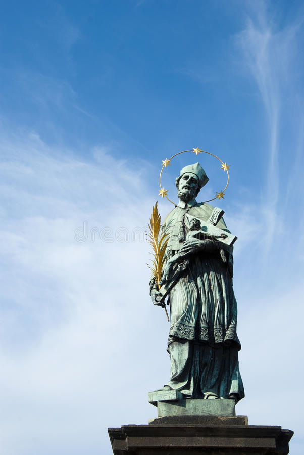 Download Statue Of A Saint In Prague Stock Image - Image: 26479529