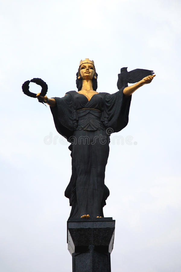 Statue of Saint Sophia stock photos
