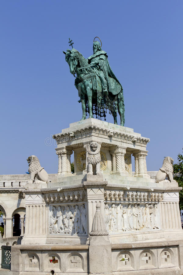 Download Statue Of Saint Stephen I, Budapest, Hungary Stock Image - Image of color, capital: 23875335