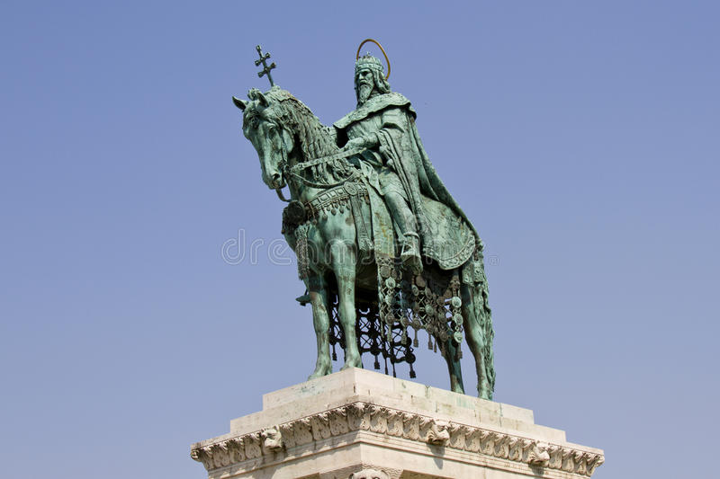 Download Statue Of Saint Stephen I, Budapest, Hungary Stock Image - Image of fisherman, color: 23875417