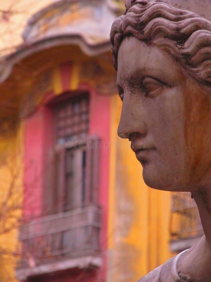 Statue in Saloniki lizenzfreie stockbilder