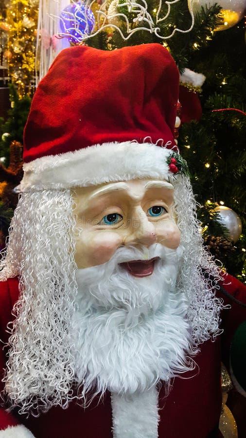 Statue of Santa Claus royalty free stock image