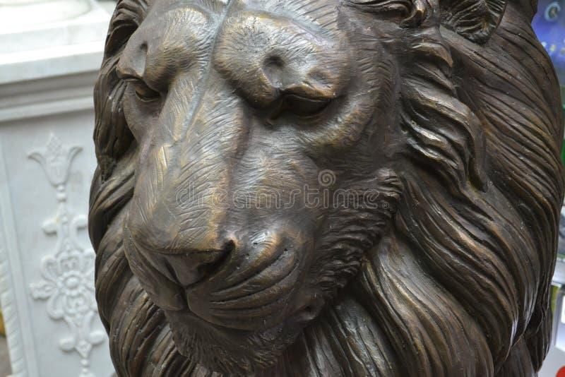 Statue, sculpture, tête, monument images libres de droits
