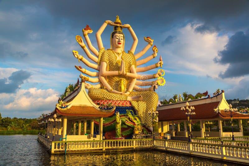 Statue of Shiva at Samui, Thailand stock photography