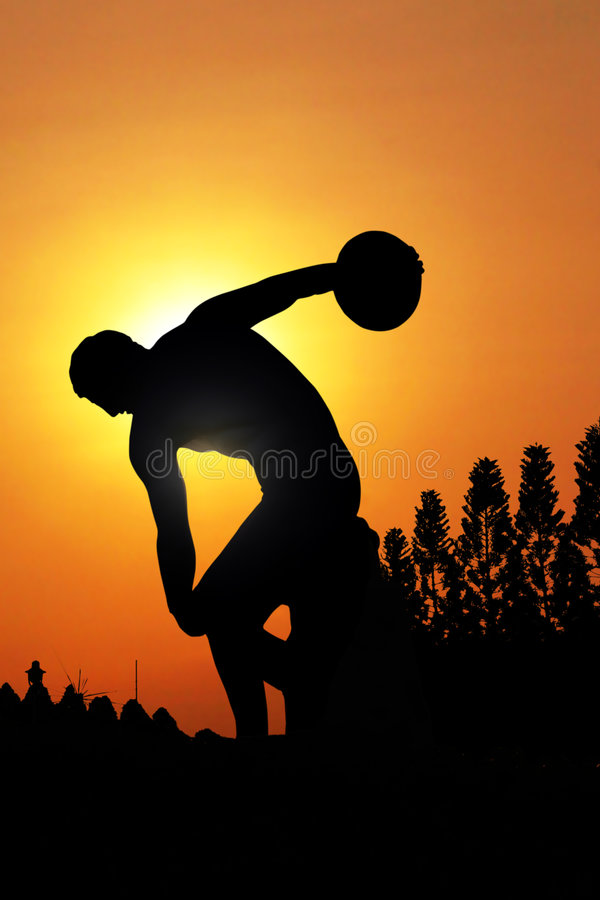Download Statue In Silhouette Stock Images - Image: 2322824