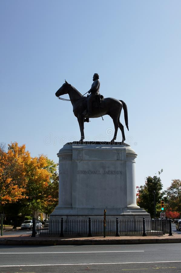 Download Statue Of Stonewall Jackson Stock Image - Image: 27703077