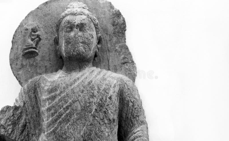 Faceless Buddha royalty free stock photography