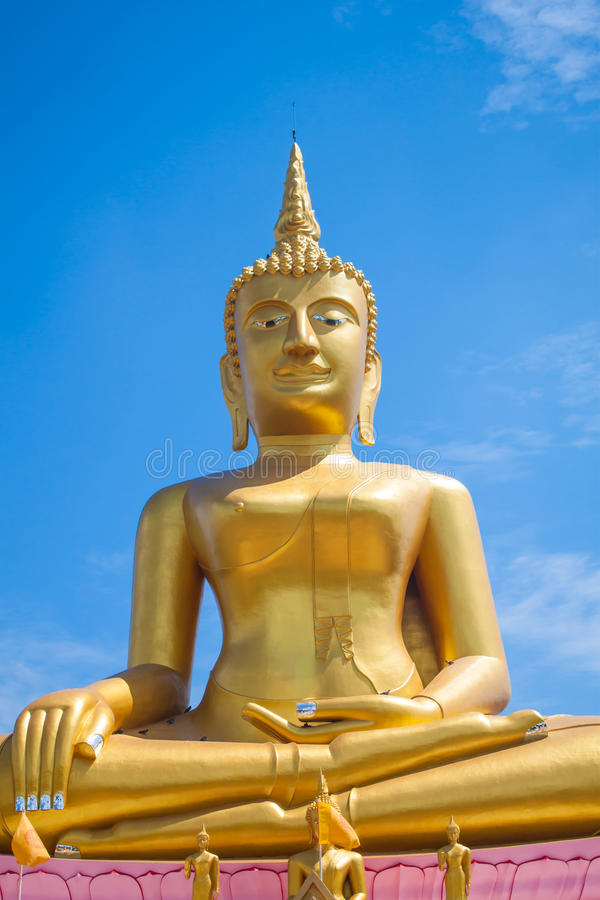 Statue thaïe de Bouddha photo stock
