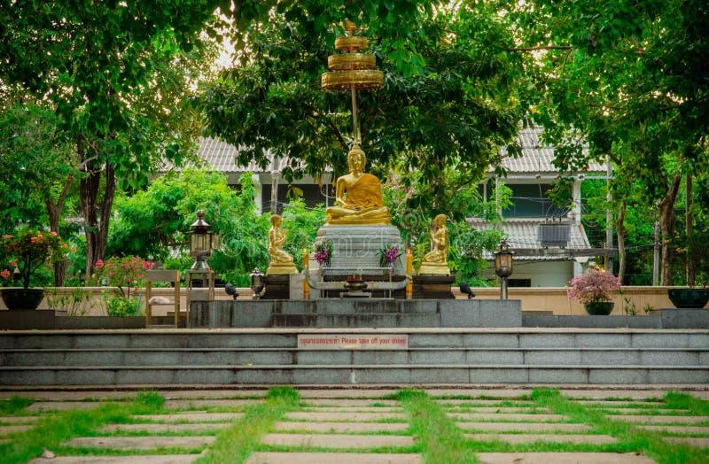 Statue thaïlandaise de Bouddha photographie stock libre de droits