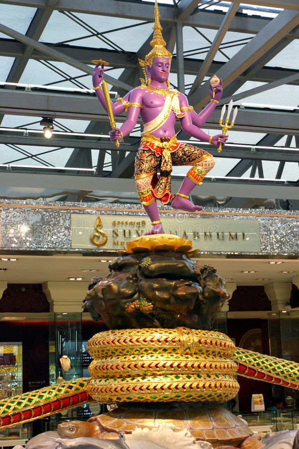 Statue in Thailand stockfotografie