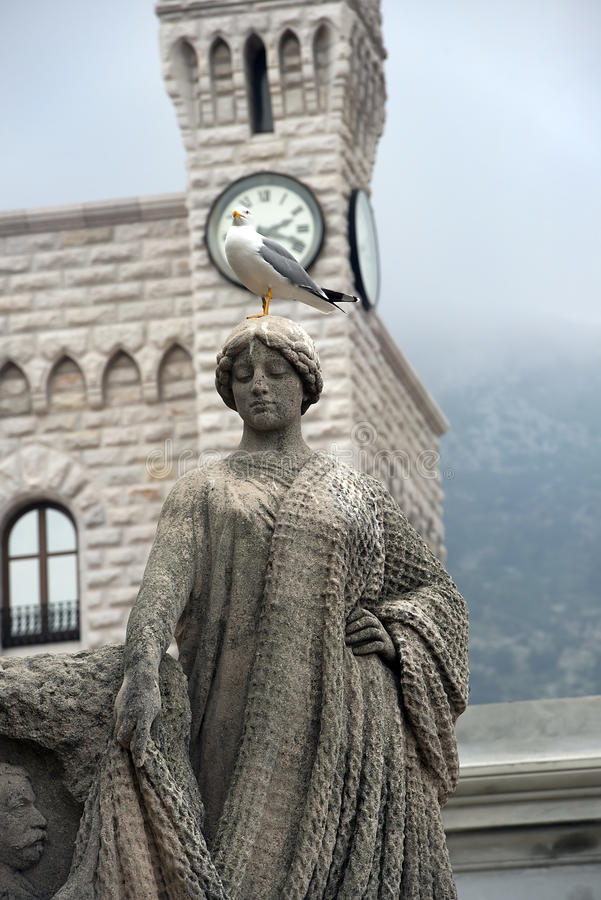 Statue to Honor Prince Albert royalty free stock photos