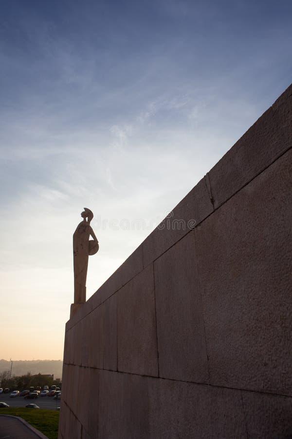 Download Statue, Trieste university stock photo. Image of university - 28185486