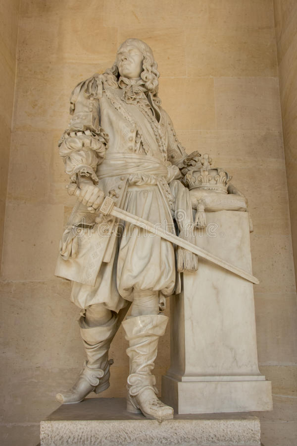 Statue of Turenne royalty free stock photography