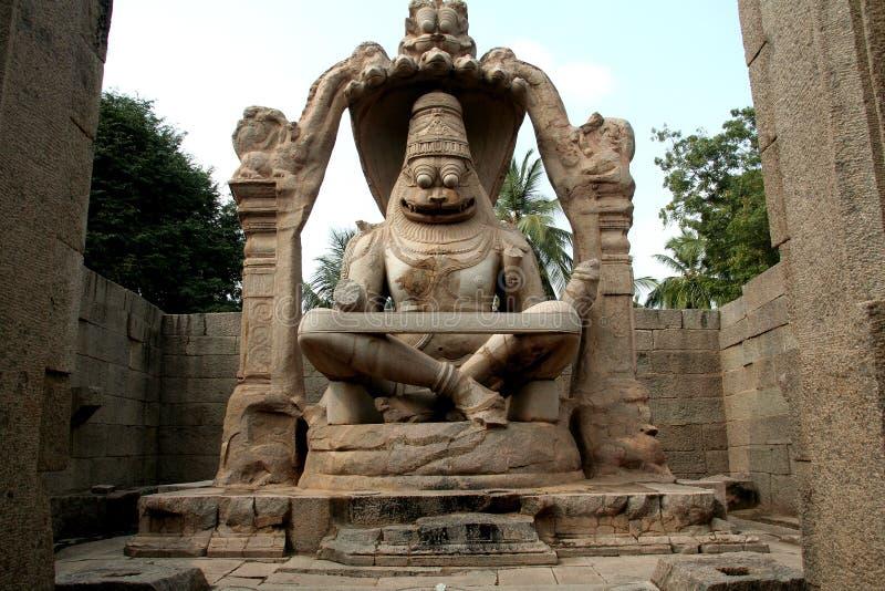 Download Statue of Ugranarasimha stock image. Image of india, effigy - 12963643