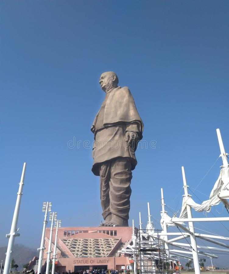 Statue of unity royalty free stock photo