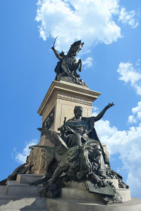 Download Statue in Venice stock photo. Image of italian, emmanuele - 22496972