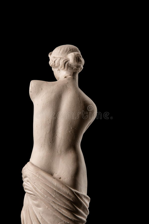 A statue of Venus, plaster stock images