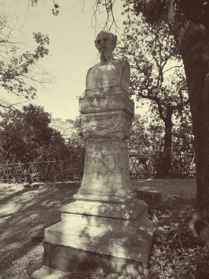 Statue in Villetta Dinegro stockbilder