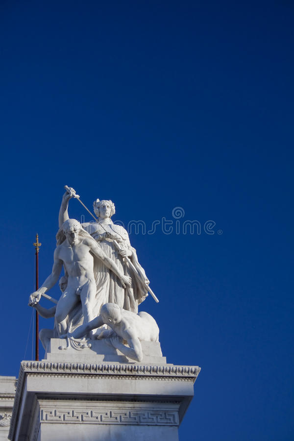 Download Statue From The Vittoriano, Rome, Italy Stock Image - Image: 32478187