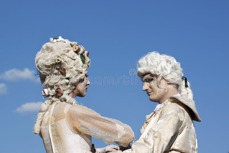Statue viventi immagine stock libera da diritti