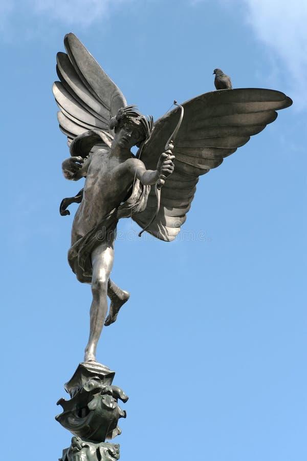 Statue von Anteros stockfotos