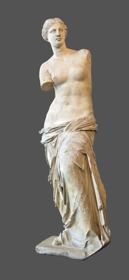 Statue von Aphrodita lizenzfreie abbildung