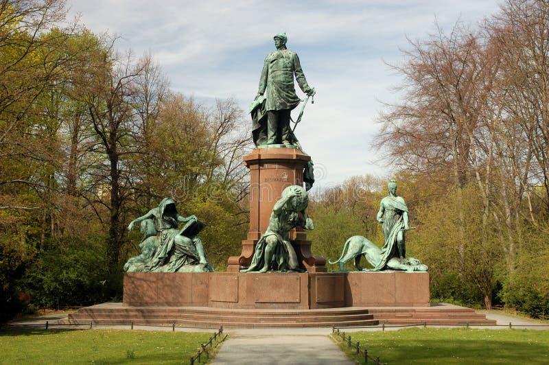 Statue von Bismarck lizenzfreie stockfotografie