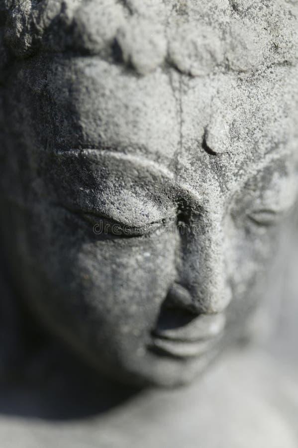 Statue von Buddha in Nepal stockfotos