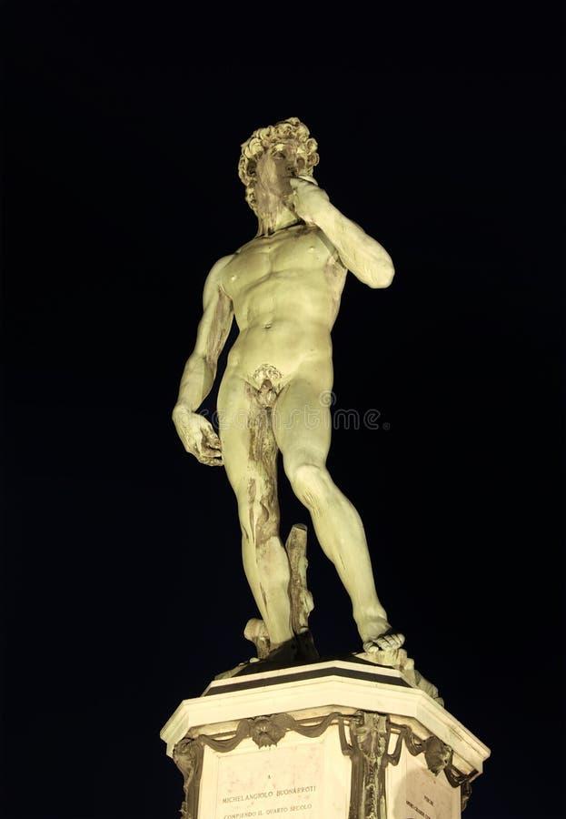 Statue von David lizenzfreie stockfotos
