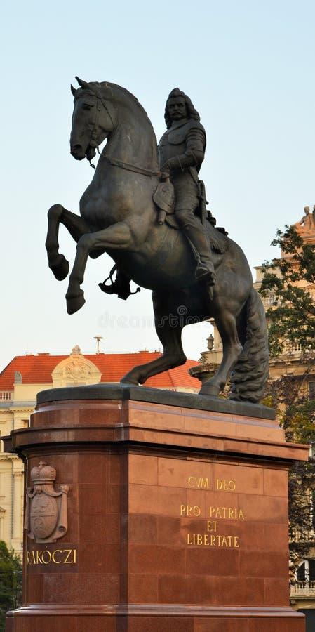 Statue von ¡ Francis II Rà kà ³ czi stockfoto