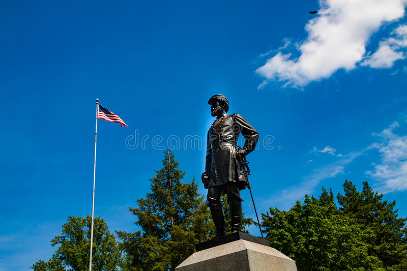 Statue von General John Reynolds stockfoto